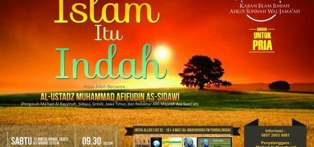 Alhamdulillah Audio Kajian Islam Ilmiah Ahlus Sunnah Wal Jama'ah Insya Alloh Bersama : Al-Ustadz Muhammad Afifudin As-Sidawi (Pengasuh Ma'had Al-Bayyinah, Sidayu, Gresik, Jawa Timur, dan Redaktur Ahli Majalah Asy Syari'ah) […]