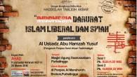 Alhamdulillah, Telah dilaksanakan Tabligh Akbar Ahlussunnah wal Jamaah di Purbalingga, 📆 Ahad, 11 JUMADAL AKHIRAH 1437 H / 20 Maret 2016 💫 Menghadirkan : 💺Al Ustadz Abu Hamzah Yusuf (Pengasuh […]